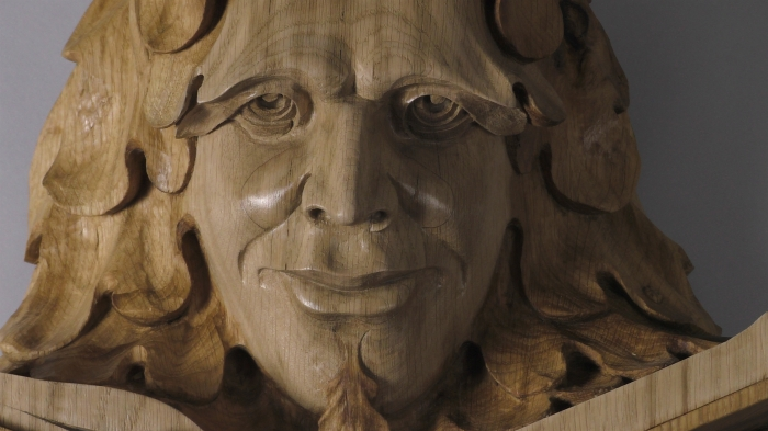 Detail: Kimble Green Man