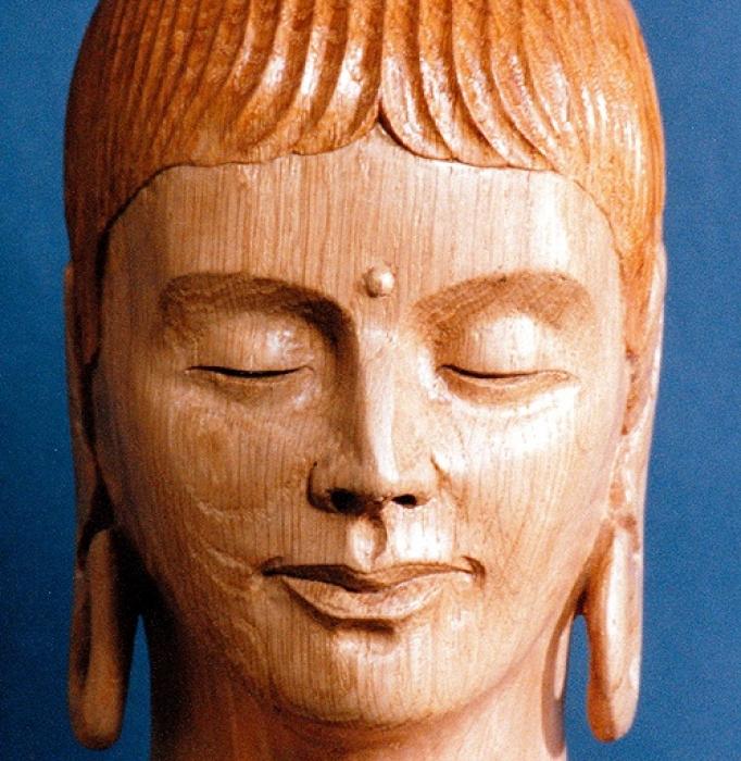 Buddha Rupa detail