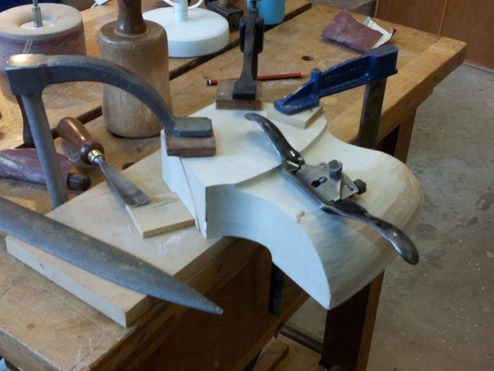 Making: Feet