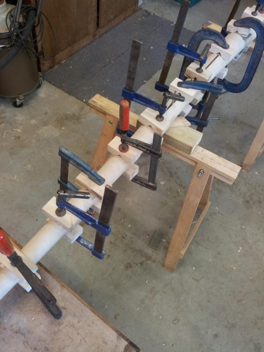 Making: Column Glue-up