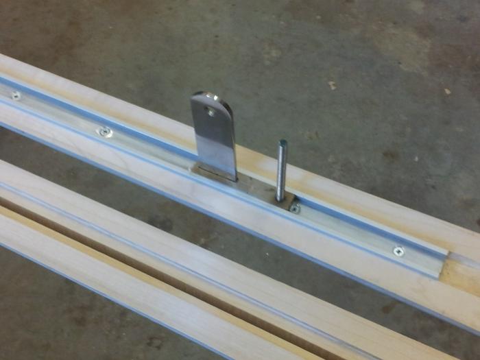 Making: Arm for Desk inTrack