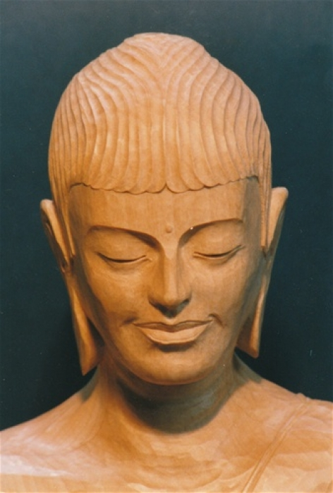 Buddha Rupa Lime detail