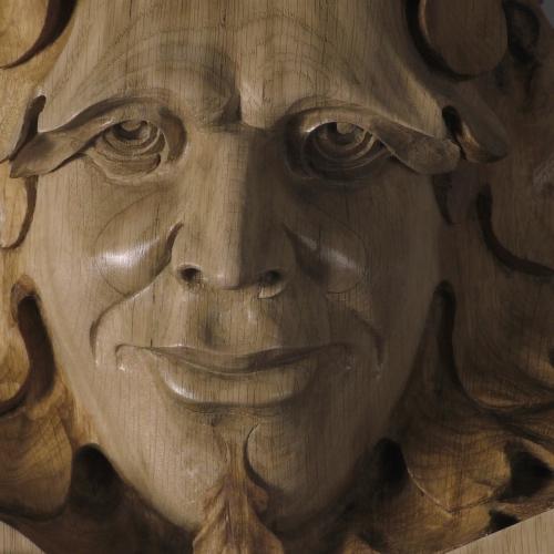 Detail: Wilson Green Man