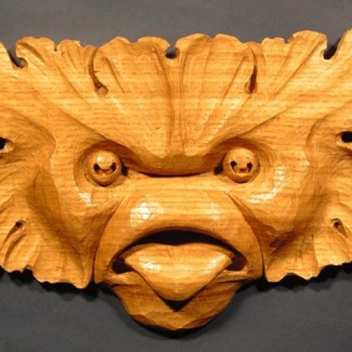 Fish Man Oak W 10in