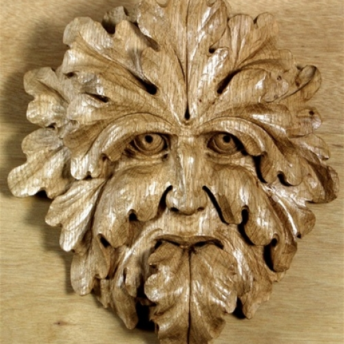 Green Man of Bude Oak 10in